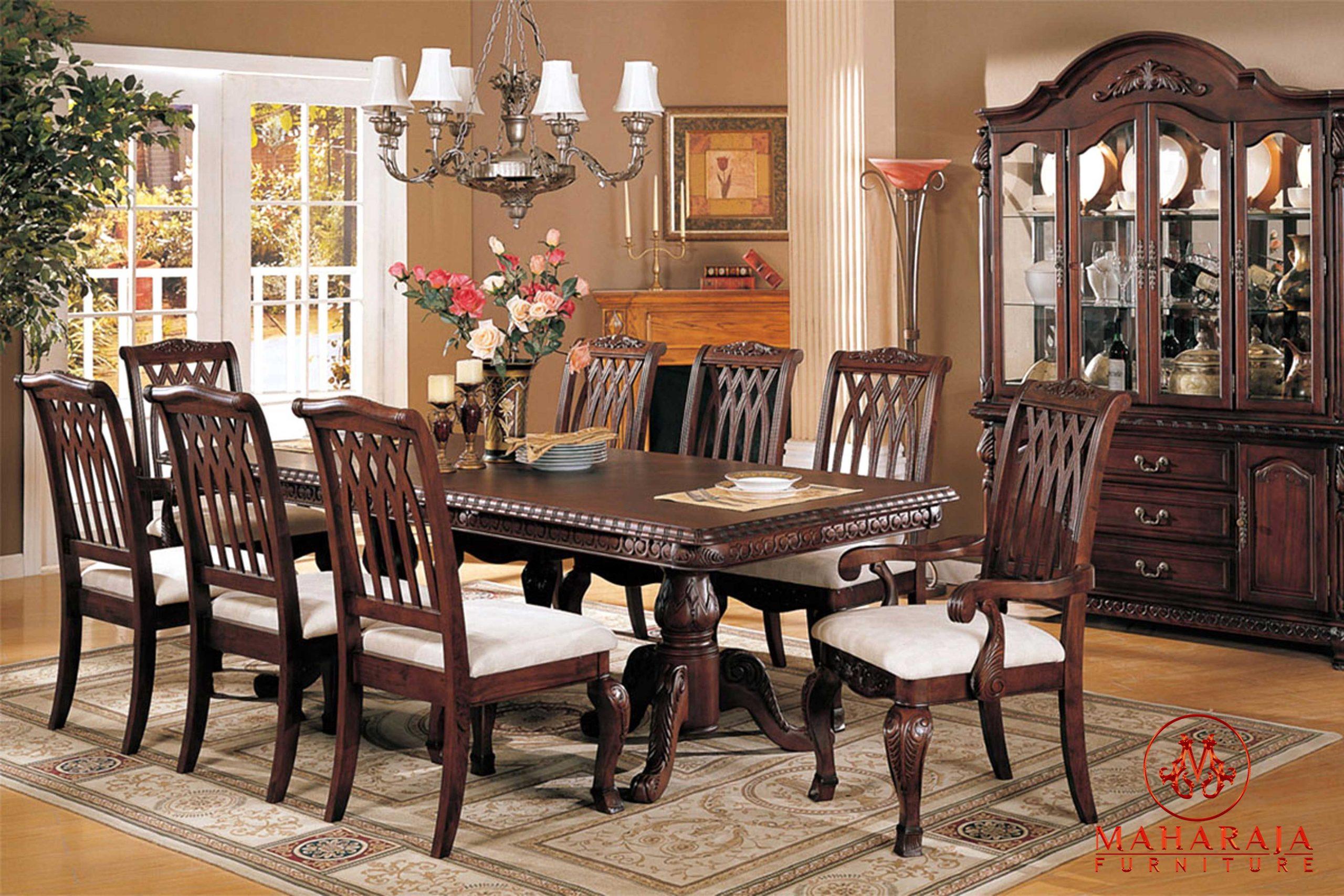vintage-dining-teak-wood-square-dining-table